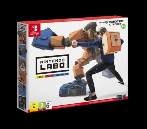 Nintendo Switch Labo: Toy-Con 02 Robo Set