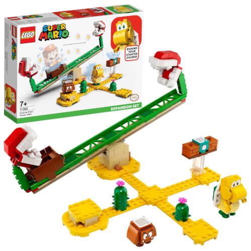 LEGO® Super Mario 71365 Piranha-Pflanze-Powerwippe Erweiterungsset