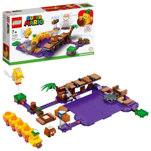 LEGO® Super Mario 71383 Wigglers Giftsumpf – Erweiterungsset