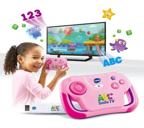 Vtech 80-613254 ABC Smile TV pink