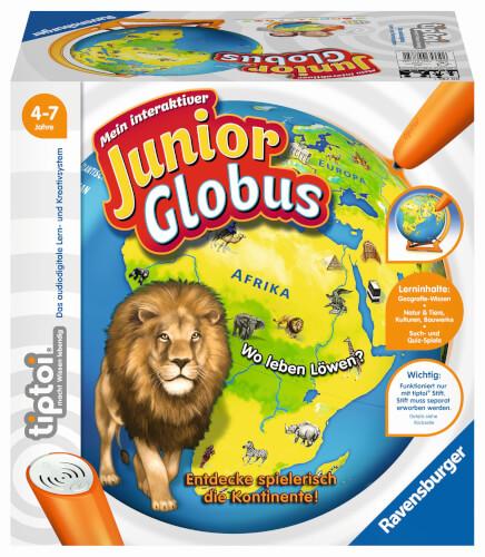 Ravensburger 00785 tiptoi® Mein interaktiver Junior Globus