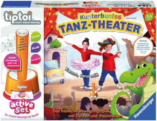Ravensburger 00073 active Set Kunterbuntes Tanz-Theater
