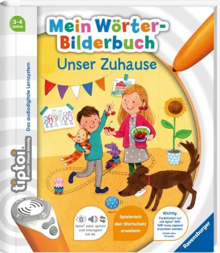 Ravensburger 55405 tiptoi® Mein Wörter-Bilderbuch Unser Zuhause