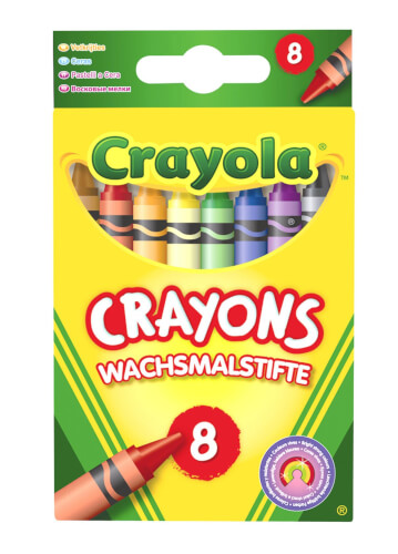 AMIGO 00087 Crayola Wachsmalstifte 8 Stück