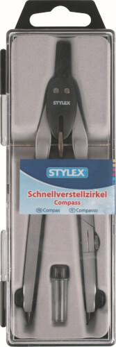 Stylex Schnellverstellzirkel für Kreise bis 340mm