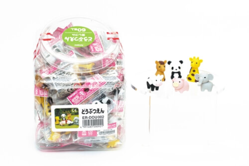 Iwako - Puzzle Radiergummi Zoo ass