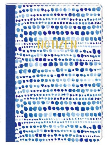 Notizheft DIN A5 - All about blue, verschiedene Motive erhältlich