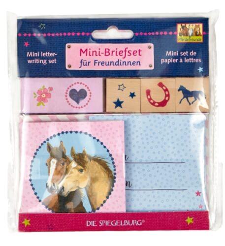 Die Spiegelburg - Mini Briefset für Freundinnen, Pferdefreunde