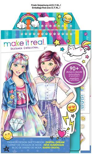 Make It Real - Mode Skizzenbuch Digitaler Traum  SA