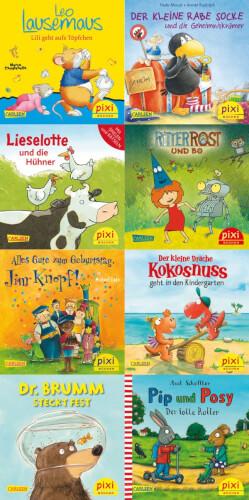 Pixi Serie 254, Die beliebtesten Bilderbuch-Helden bei Pixi sortiert (1 Stück)