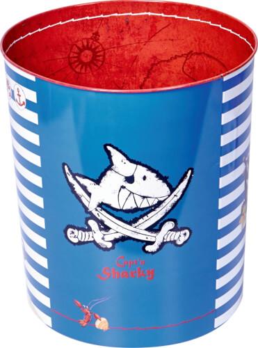 Die Spiegelburg 12773 Capt'n Sharky - Papierkorb, bunt