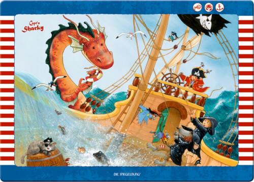 Die Spiegelburg 12846 Capt'n Sharky - Schreibtischauflage