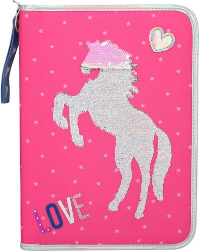 Depesche 10604 Miss Melody XXL Federtasche Pink