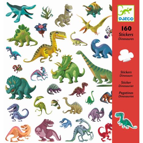 Stickerbögen: Dinosaurier