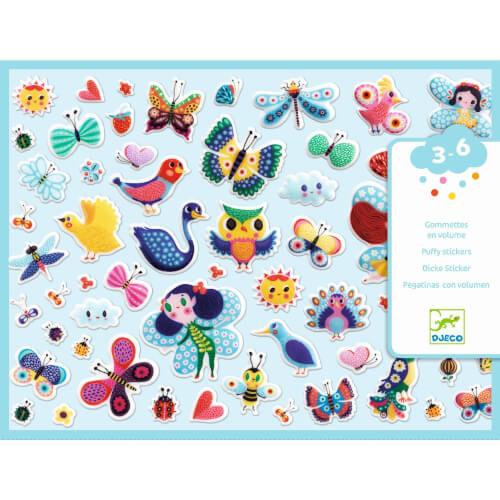 Sticker: Kleine Flügelwesen