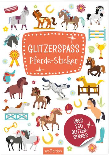 Glitzerspaß Pferde-Sticker