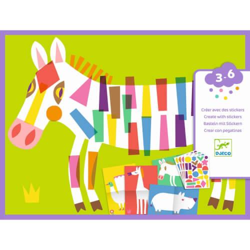 Sticker: Große Tiere