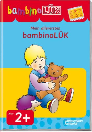 Mein allererstes bambinoLÜK Set, Leinen-Ordner, 24 Seiten, von 2 - 4 Jahren
