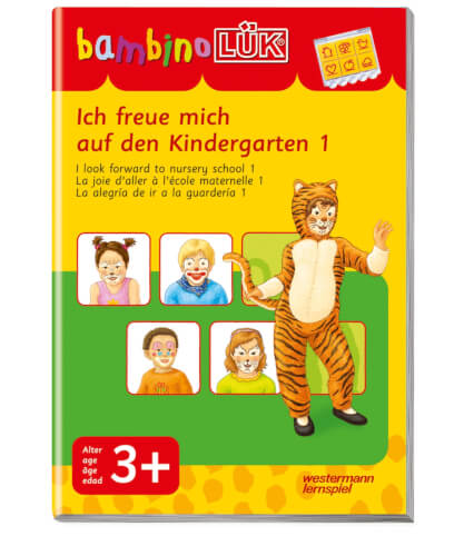 bambinoLÜK Ich freue mich auf den Kindergarten