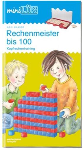 miniLÜK: Rechenmeister bis 100, Lernheft, 29 Seiten, von 7 - 9 Jahren