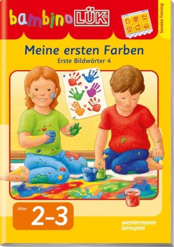 bambinoLÜK Meine ersten Farben