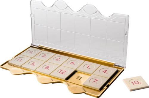 Westermann Lernspielverlage MiniLÜK Jubiläumsgerät Klarsichtdeckel Gold