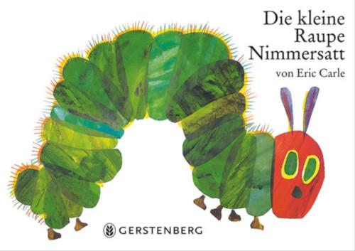 Raupe Nimmersatt, Pappe klein, ab 3 Jahren