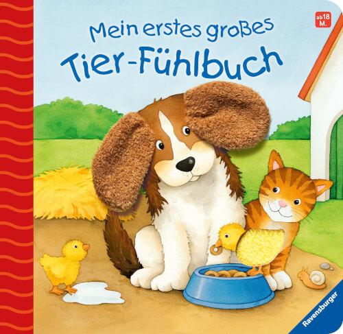 Ravensburger 43299 Mein erstes großes Tier-Fühlbuch