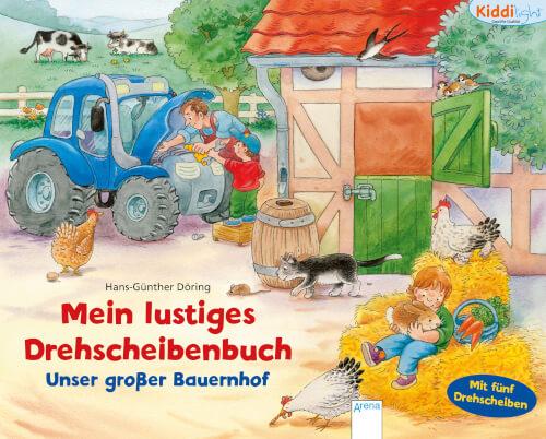 Arena Drehscheibenbuch Unser großer Bauernhof