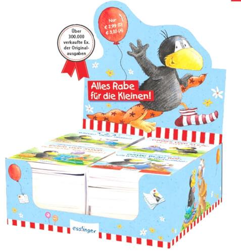 Kleiner Rabe Socke: Eckig und Rund - Geschenke kunterbunt! - Mini-Ausgabe, Pappbilderbuch, 12 Seiten, ab 3 Jahren