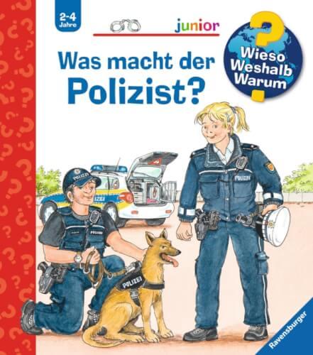 Ravensburger 021383 Wieso?Weshalb?Warum? Junior Was macht der Polizist?