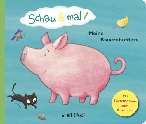 Buch Schau & mal! Meine Bauernhoftiere