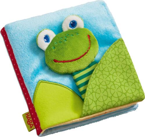 HABA - Stoffbuch Zauberfrosch, ab 6 Monaten