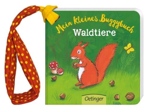 Mein kleines Buggybuch Waldtiere, Pappbilderbuch, 14 Seiten, ab 12 Monaten