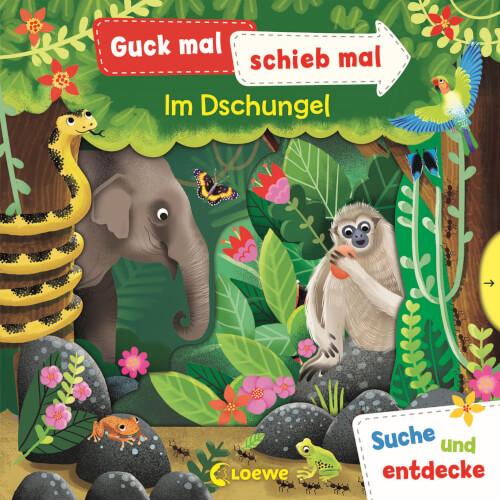 Loewe Guck mal, schieb mal! Suche und entdecke - Im Dschungel
