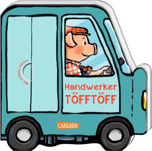 Mein kleiner Fahrzeugspaß: Handwerker Töfftöff