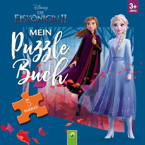 Frozen II Mein Puzzlebuch