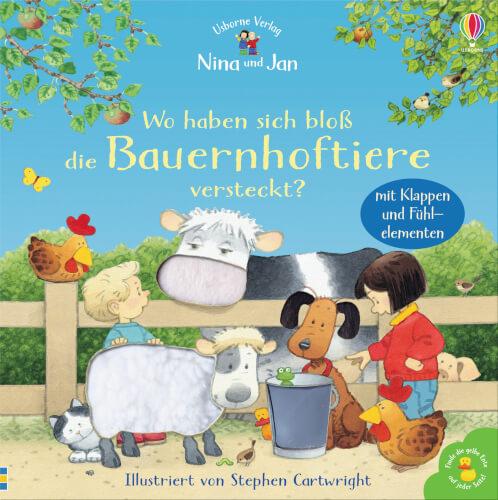Nina und Jan - Wo haben sich bloß die Bauernhoftiere versteckt?