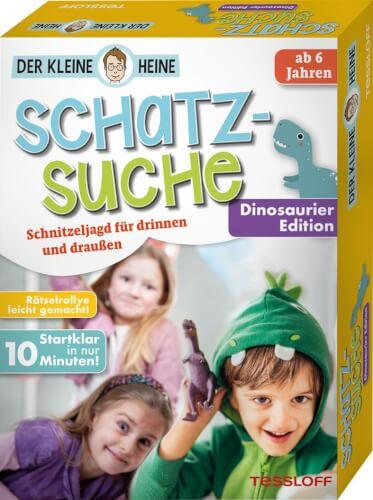 Tessloff Der kleine Heine. Schatzsuche. Dinosaurier Edition