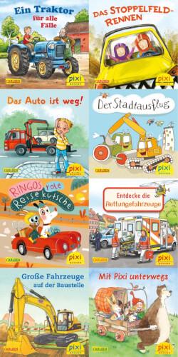 Pixi Serie Nr. 247: Pixis bunte Fahrzeuge sortiert (1 Stück)