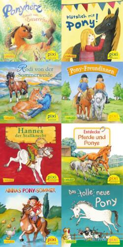 Pixi-Box 259: Ponygeschichten mit Pixi sortiert (1 Stück)
