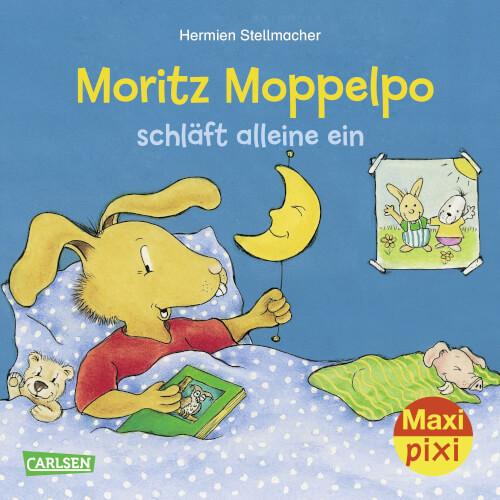 Maxi Pixi 293: Moritz Moppelpo schläft alleine ein