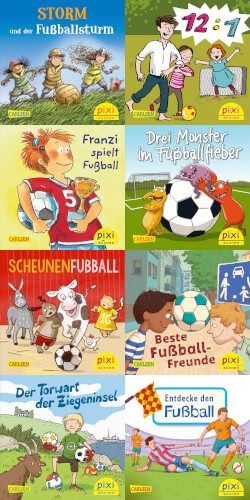 Pixi-Box 267: Pixi spielt Fußball sortiert (1 Stück)