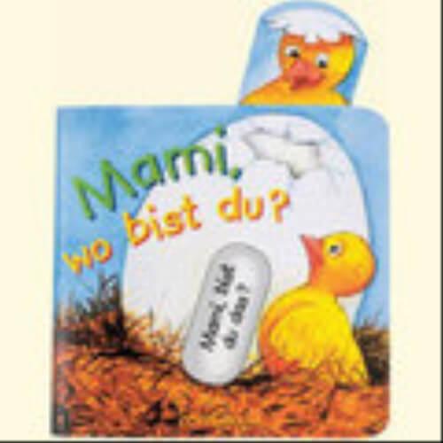 Mini-Pappe mit Schiebern: Mami, wo bist du?