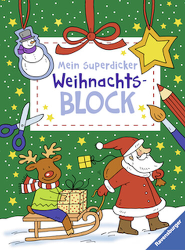 Ravensburger 55503 Mein superdicker Weihnachtsblock