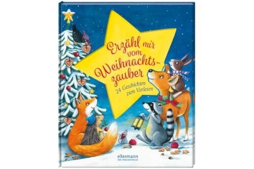 Hirsch, Erzähl mir vom Weihnachtszauber. 24 Geschichten zum Vorlesen