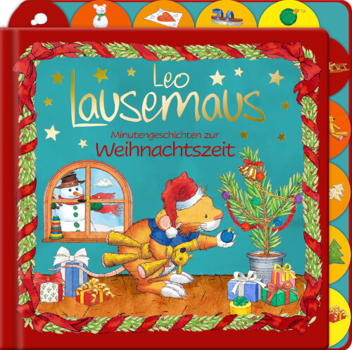 Leo Lausemaus Minutengeschichten zur Weihnachtszeit