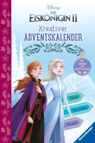 Ravensburger 49645 Disney Die Eiskönigin 2: Kreativer Adventskalender (Rätsel/Fakten)