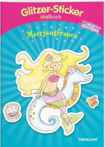 Tessloff Glitzer- Stück Malbuch Meerjungfrau