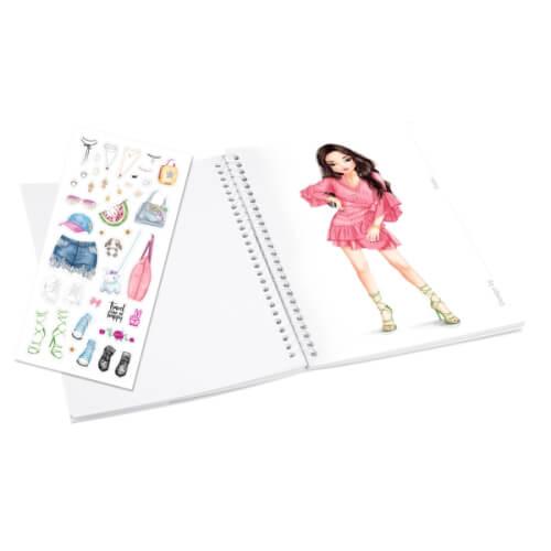 Depesche 7857 TOPModel Pocket Malbuch mit 3D  Cover